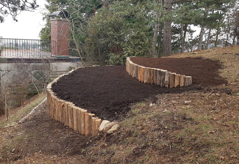 Gartengestaltung mit Robinienholz